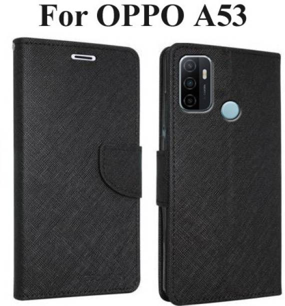Mehsoos Flip Cover for OPPO A53