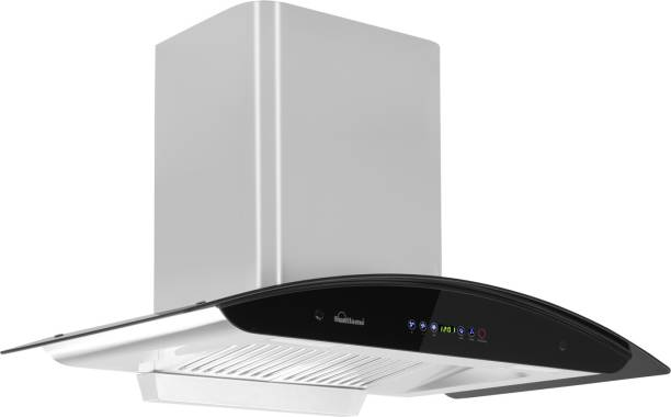 SUNFLAME RAPID 90 CM  DX Auto Clean Wall Mounted Chimney