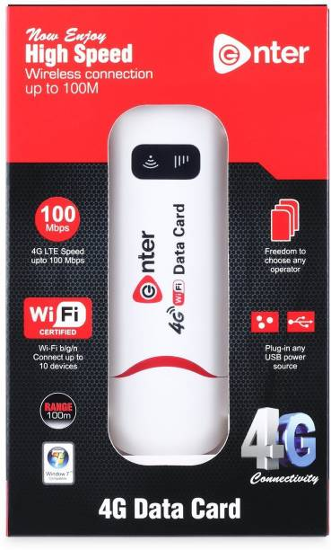 Enter 4G DATA CARD E-D4G Data Card