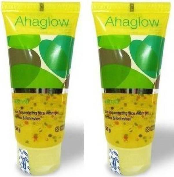 torrent Ahaglow advance skin rejuvenating face wash gel 100ml X 2pcs Face Wash