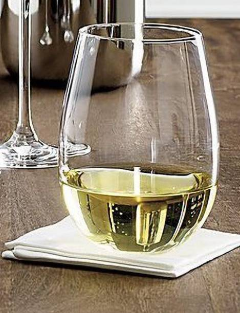 VRUTI (Pack of 6) STEMLESS WINE GLASS 400 ML Glass Set