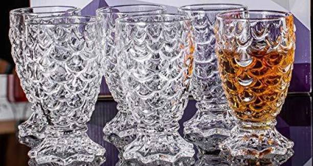Avira Ent (Pack of 6) Pure Crystal Glass set Glass Set