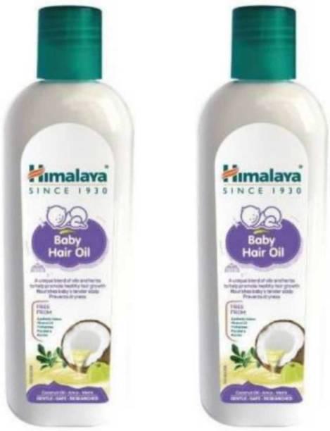 HIMALAYA Herbals Baby Hair oil Pack of -2 Hair Oil