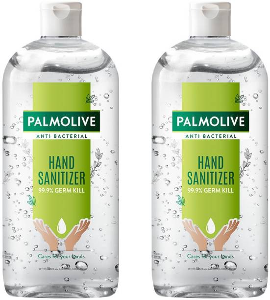 PALMOLIVE Anti-bacterial Alcohol Based (Saver Pack) Hand Sanitizer Bottle