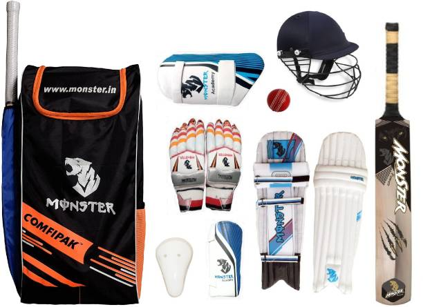 Monster 11-14 YEARS Power Set of 6 No Complete Cricket Kit