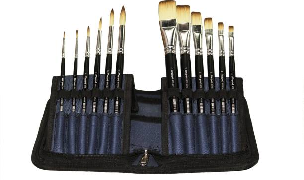Maped Premium Synthetic Zip Pouch Brush Set of 12