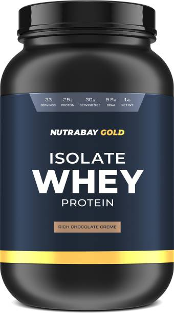 Nutrabay Gold Isolate Whey Protein