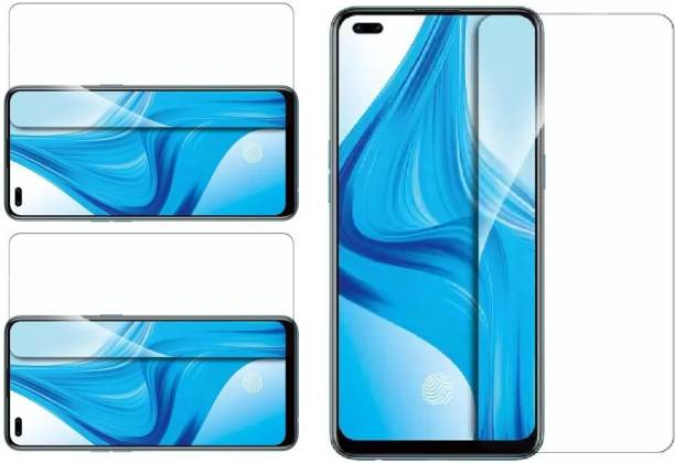 ISAAK Tempered Glass Guard for OPPO F17 Pro, OPPO A93, OPPO Reno3 Pro, OPPO Reno4, OPPO Reno5 (5G)
