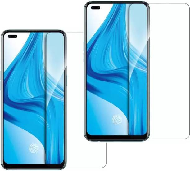 ISAAK Tempered Glass Guard for OPPO F17 Pro, OPPO A93, OPPO Reno3 Pro, OPPO Reno4, OPPO Reno5 (5G), OPPO F19 Pro