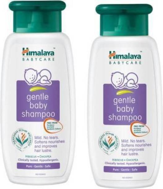 HIMALAYA Gentle Baby Shampoo Baby Boys & Baby Girls 200 Ml x 2= 400 Ml