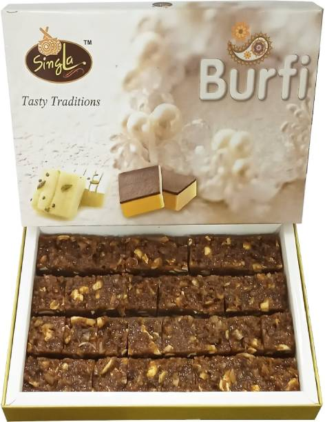 Singla Dodha Burfi Sweets 1Kg special burfi Box