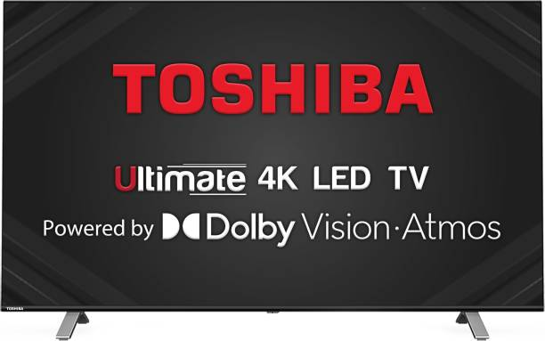 TOSHIBA U50 Series 108 cm (43 inch) Ultra HD (4K) LED Smart TV with Dolby Vision & ATMOS