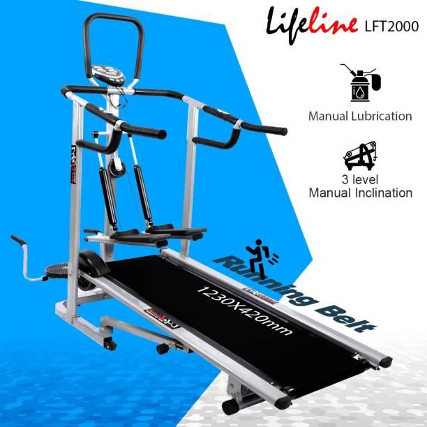 Lifeline LFT2000 4-in-1 Manual Treadmill