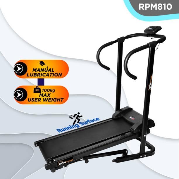 RPM Fitness RPM810 Manual Treadmill with Free Installation Treadmill