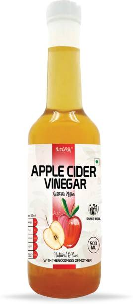 NutroVally apple cider vinegar for weight loss with Mother Vinegar