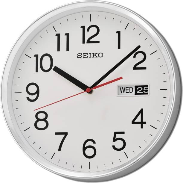 Seiko Analog 30.3 cm X 30.3 cm Wall Clock