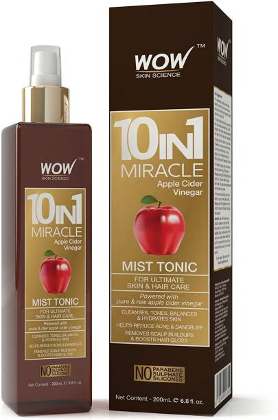 WOW SKIN SCIENCE WOW 10 in 1 Miracle Apple Cider Vinegar Mist Tonic Men & Women