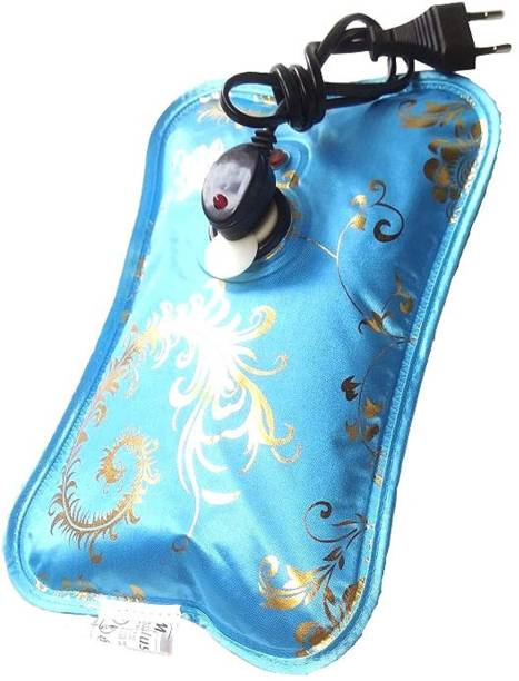 Aryshaa Electric Heat Bag Hot Water Bottle Pouch Massager In Many Designs & Colors Electrical 1 L Hot Water Bag
