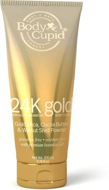 Body Cupid 24 k Gold Body  Scrub