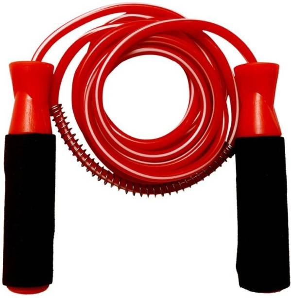 PEERTRADER Jump Skipping Rope for Men, Women, Kids, Adult-Best in Fitness,Exercise,Workout. Ball Bearing Skipping Rope