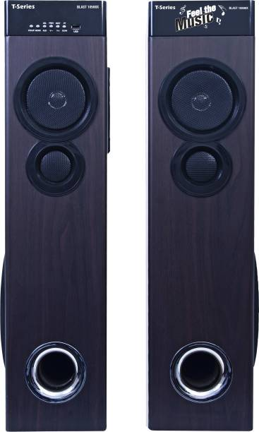 T-Series Blast 10500X Multimedia Tower Speakers System (Black) Bluetooth Home Theatre