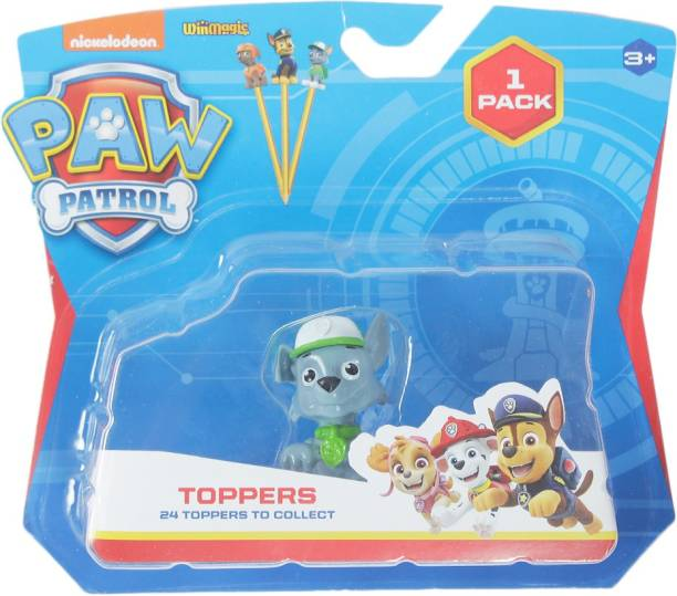 PAW PATROL Stampers 1 Pc Blister (S1) - Marshall With Fire Truck
