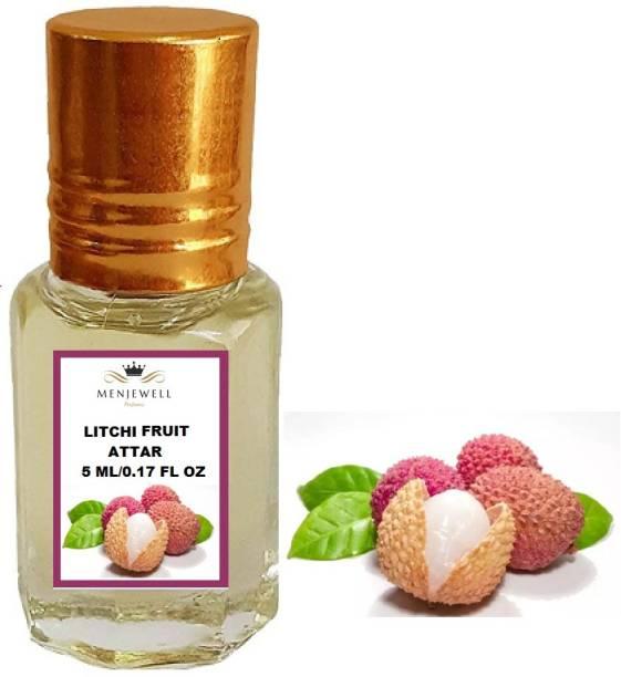 Menjewell Fragrances Litchi Fruit (Natural Itra/Attar/ Perfume) Fruity Attar Floral Attar