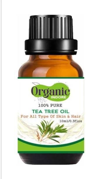 OrganicIndore 100% Pure TEA TREE ESSENTIAL OIL