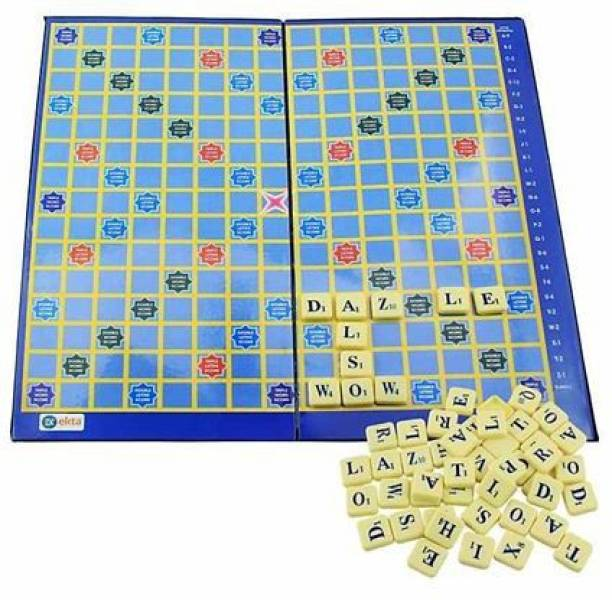 ZHOOSH WORD GAME , CROSSWORD for all ages (above 6 years) Word Games Board Game