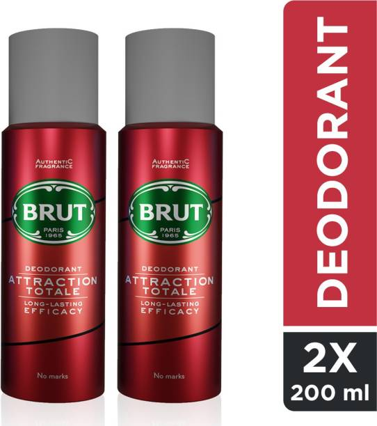 BRUT Attraction Totale Deodorant Spray for Men Deodorant Spray  -  For Men