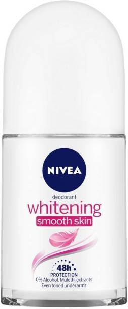 NIVEA Whitening Smooth Skin Deodorant Roll-on  -  For Women