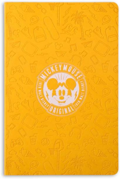 doodle Mickey Mouse - Icons Notebook A5 Notebook Ruled 160 Pages