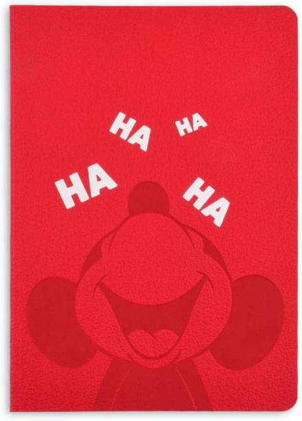 doodle Mickey Mouse - Laugh Notebook A6 Notebook Ruled 114 Pages