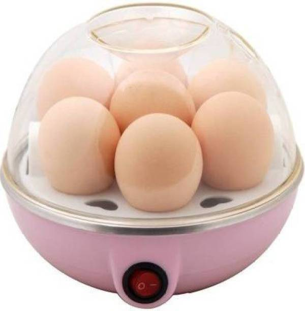 Le Maroco Egg Boiler Electric Egg Steamer and Poacher EGG 10 Egg Cooker (Multicolor, 7 Eggs) Automatic Off for Steaming, Cooking, Boiling and Frying Egg Cooker