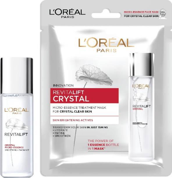 L'Oréal Paris Crystal Micro-Essence 22ml + Crystal Micro-Essence Sheet Mask