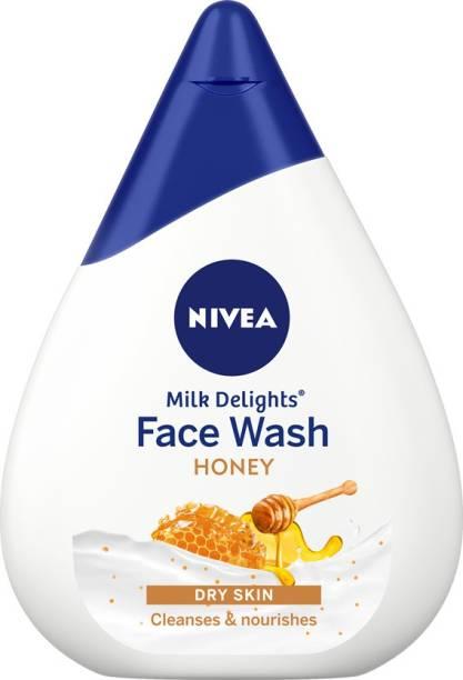NIVEA Milk Delights Honey  Face Wash