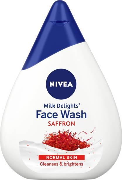 NIVEA Milk Delights Precious Saffron Face Wash