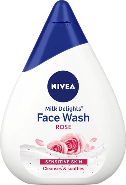 NIVEA Milk Delights Caring Rosewater Face Wash