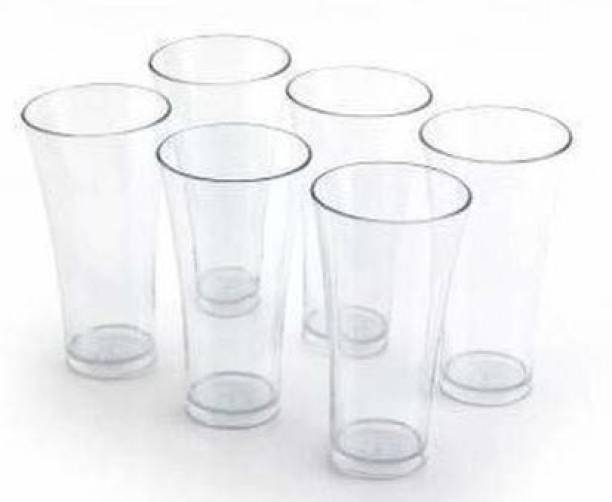 Madhuvan (Pack of 6) Glass Glass Set