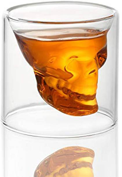 HOUSE OF QUIRK SKULL GLASS_75ML Glass Set