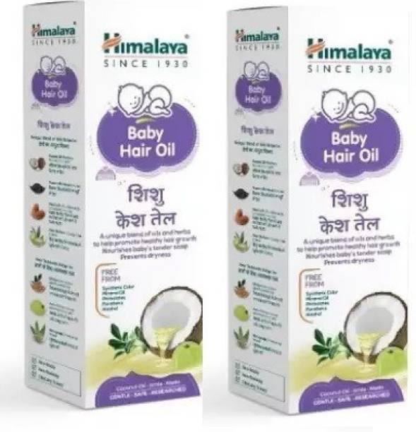 HIMALAYA Herbals Baby Massage Oil 100 ML ( Pack of 2) Hair Oil
