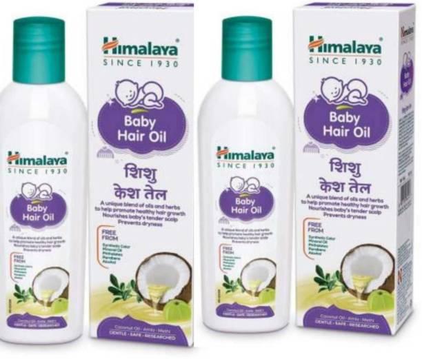 HIMALAYA BABY HAIR OIL 200 Ml Pack of -2 Hair Oil