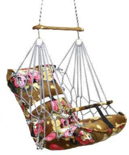 kd enteprisesa Cotton Hanging Home Swing for Baby Cotton Small Swing
