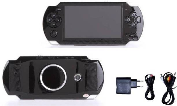 Medaline BLACK PSP gaming console with Music, Alarm, videos BL_569 4 GB with Mario, Taken3, Contra, Mustafa, CAR RACING, SHOOTING, ACTION GAMES, ARCADE, SHOOTING, WRESTLING, SPORTS