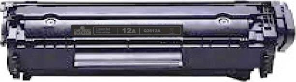 CARTRIDGE MEDIA 12A COMPATIBLE FOR Q2612A PACK of 1 TONER CARTRIDGE FOR HP Laserjet -1010, 1010w, 1012, 1015, 1018, 1020, 1022, 1022n, 1022nw, M1005 MFP, M1319f MFP, 3015, 3020, 3030, 3050, 3050z, 3052, 3055 (Pack of 1) Black Ink Toner