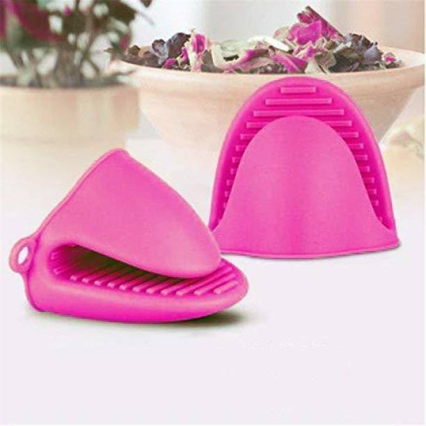 Nohunt Pink Silicon Kitchen Linen Set