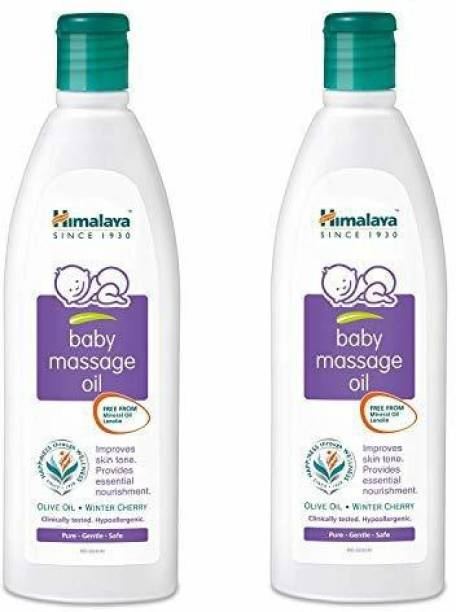 HIMALAYA Baby Massage Oil (Pack of 2)