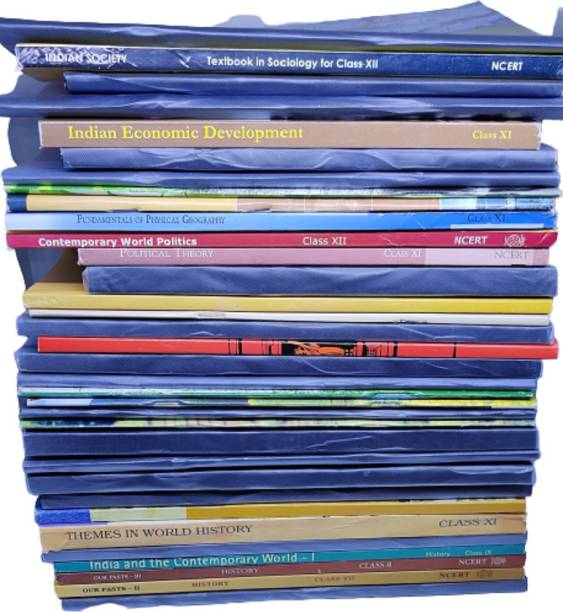 NCERT Books (English Medium) From Class 6-12th For UPSC Exam (Prelims, Mains), IAS, Civil Services, IFS, IES And Other Exams [Paperback] For 2020 Exam(Set Of 35 Books)