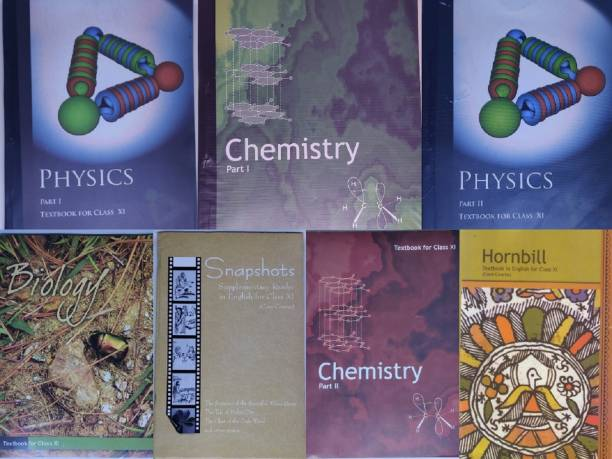 NCERT Science (PCB) Complete Books Set For Class -11 (English Medium)