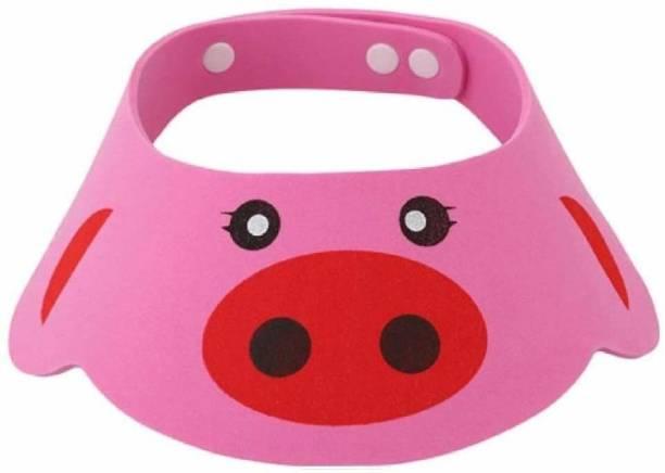 SYGA Baby Bath Shower Cap Cartoon Design(Pink)
